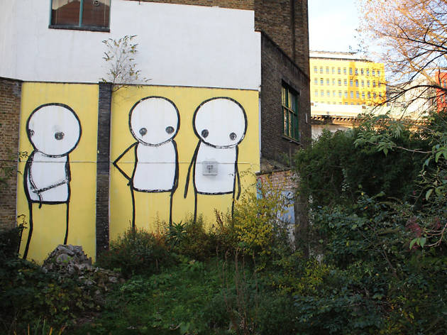Stik, St Giles in the Fields, Bloomsbury