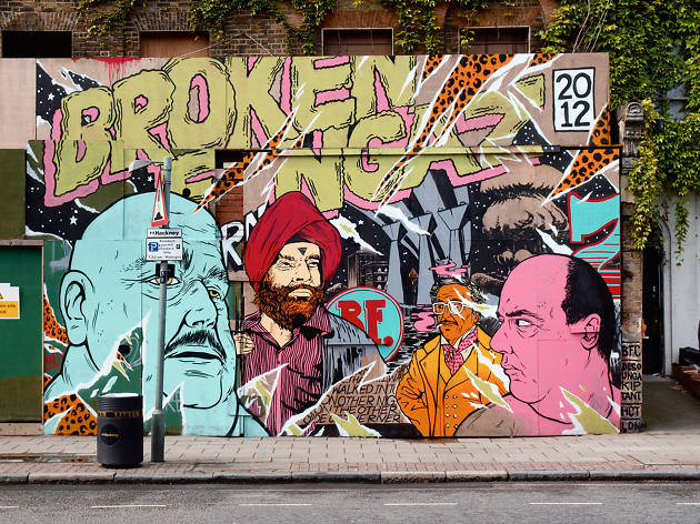 Broken Fingaz, Hackney Road