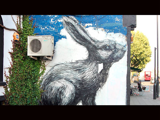 ROA, Hackney Road, From TO archive