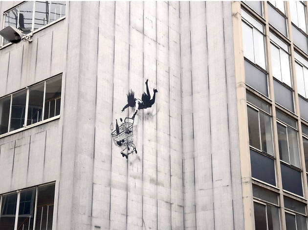 Banksy, Bruton Lane, Mayfair