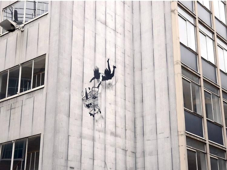 Banksy, Bruton Lane, Mayfair