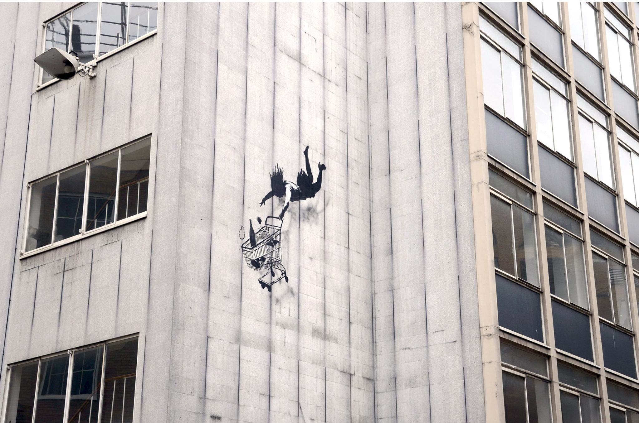 Banksy, Mayfair from TO archive