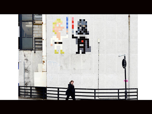 Invader, LOCATION?, © Claude Crommelin