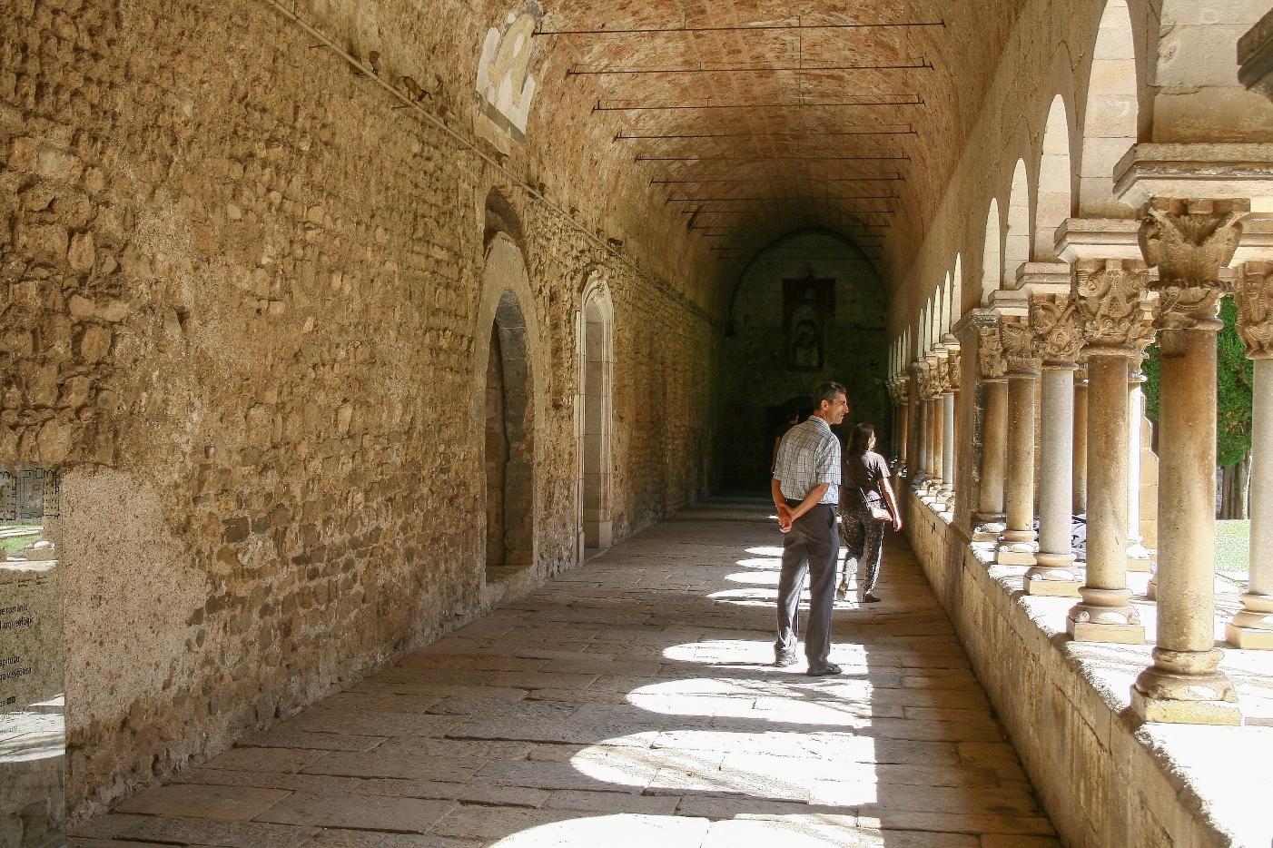 Claustre Monestir Sant Cugat del Vallès