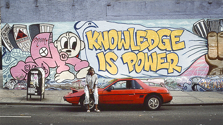 Gaze at these awesome New York '90s murals
