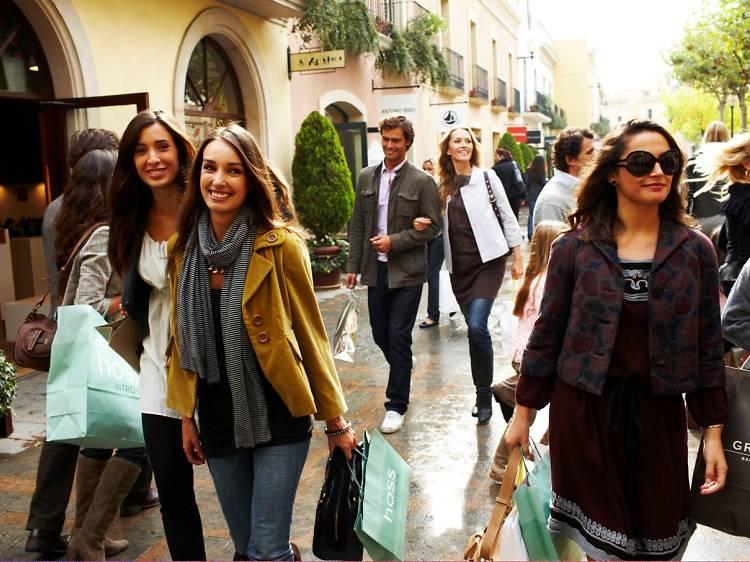 Tarda dia 3: comprant a La Roca Village
