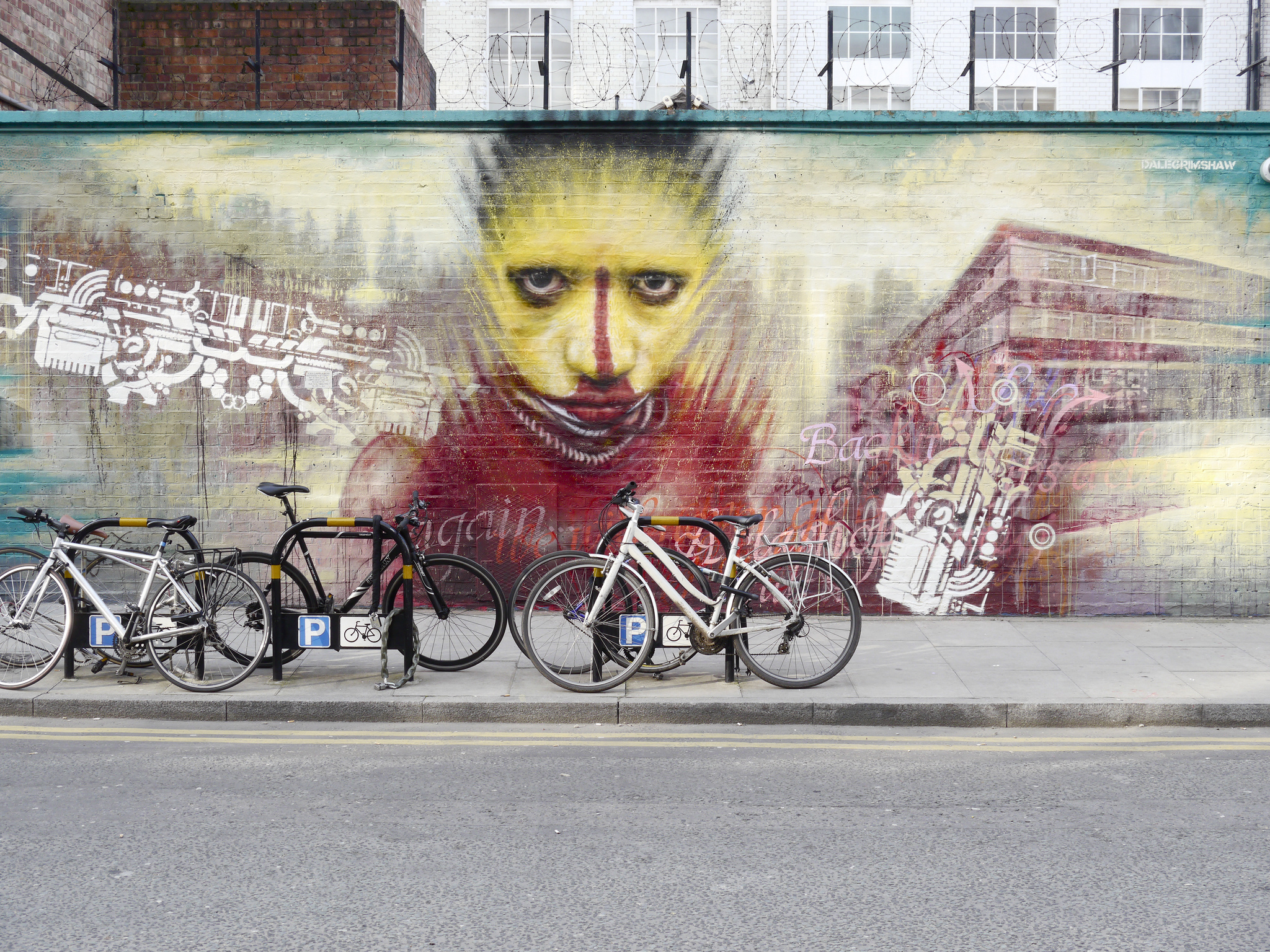 Dale Grimshaw, Clifton Street, Hoxton