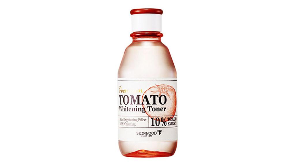 SkinFood Premium   Tomato whitening toner, $25, at theskinfoodus.com