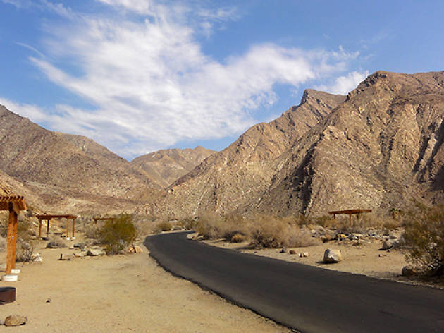 Campgrounds at Anza-Borrego Desert State Park