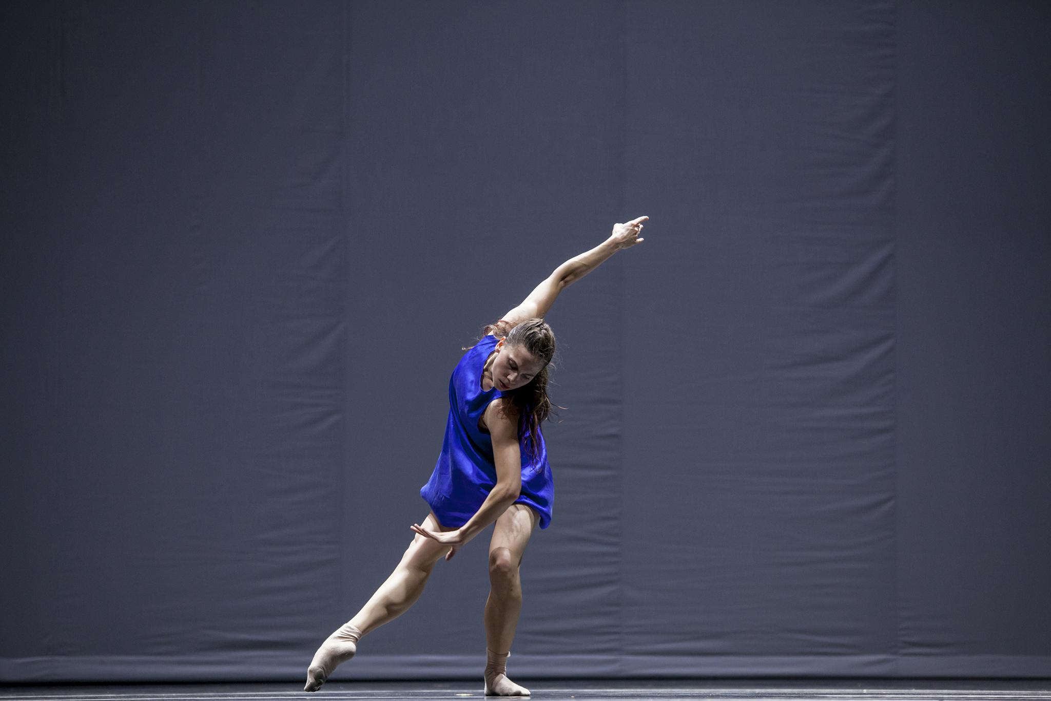 Hubbard Street dancer Jacqueline Burnett in Quintett