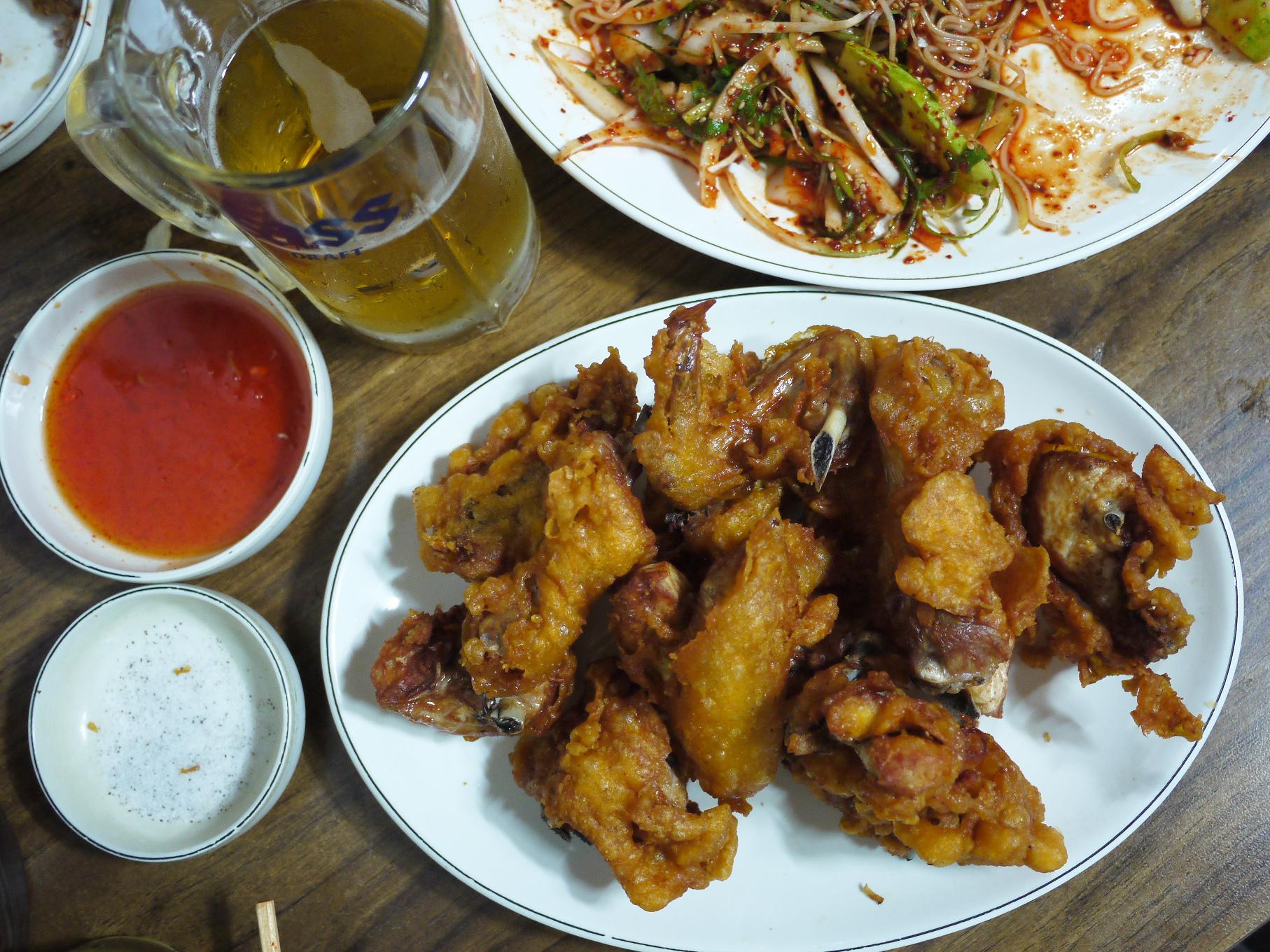 엉터리통닭, 치킨, 통닭