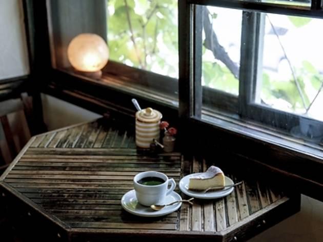 コーヒーは古民家で飲む。