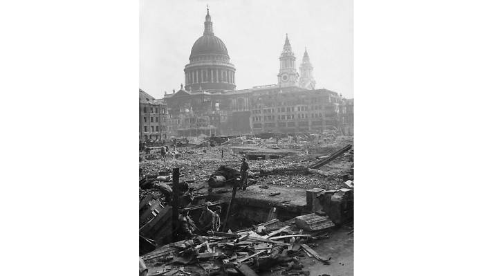 St Paul's Cathedral, March 7 1941