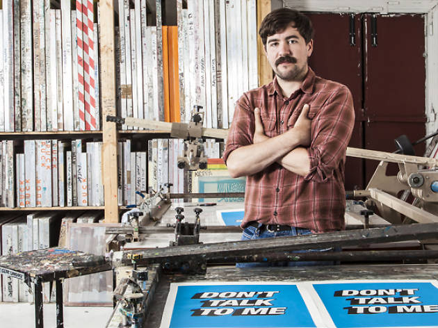 Quit your job, become a... screen printer