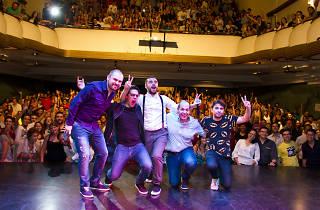 La culpa es de Colón stand up comedy