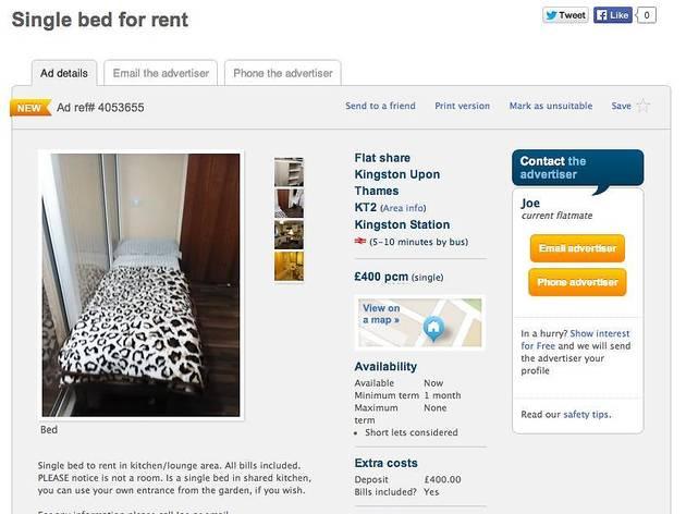 Gumtree Bethnal Green Room Rent