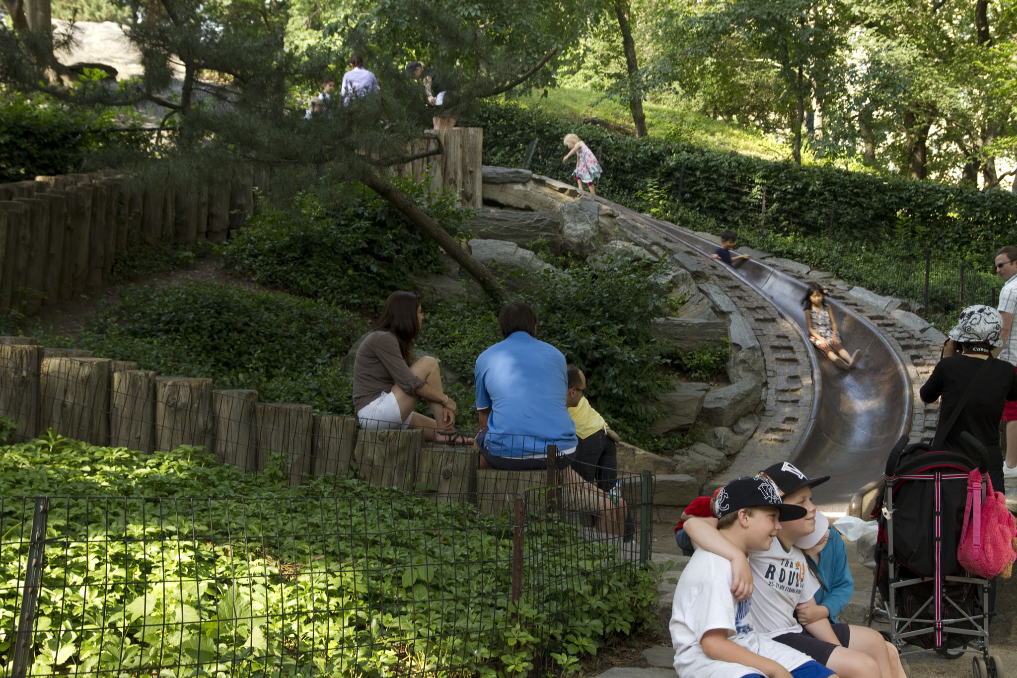 Visit all of NYC's best kids' playgrounds