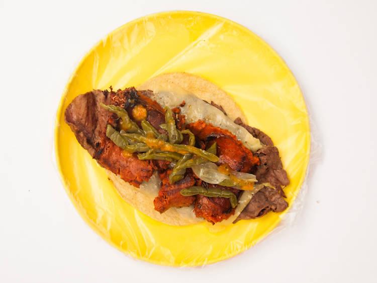 Tacos al carbón El Komander