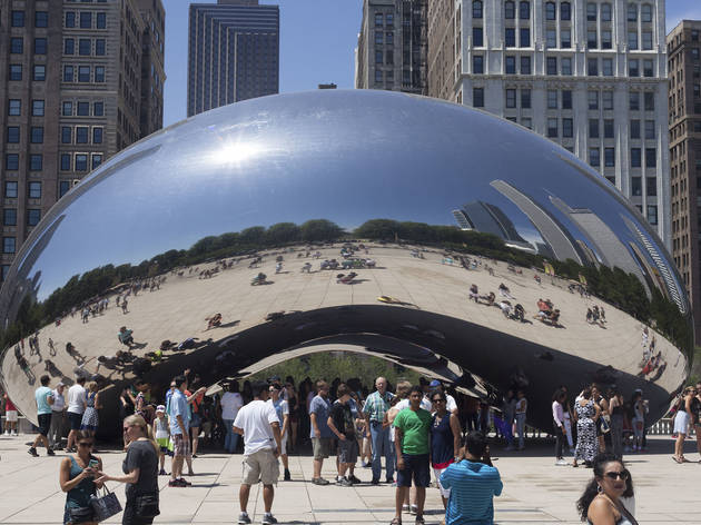 Cloud Gate, voiced by David Schwimmer