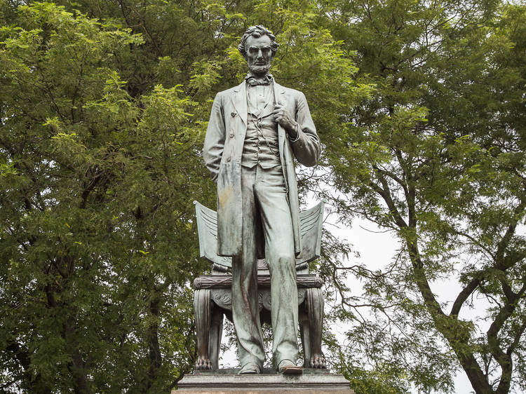 Abraham Lincoln, voiced by John C. Reilly