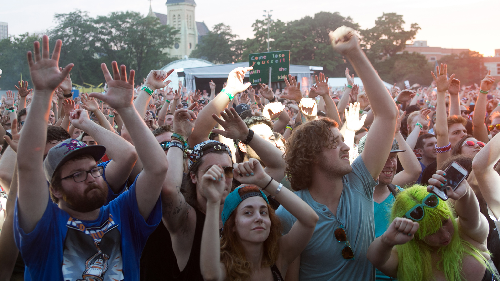 North Coast 2015, Saturday: Faces in the crowd