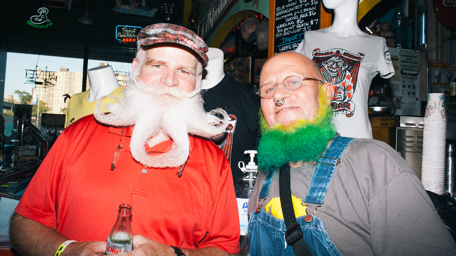 See the hairy photos from the 2015 Coney Island Beard and Mustache Competition