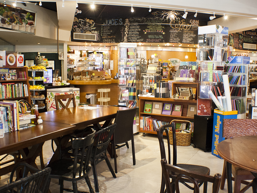 Curl up at Bookstore in the Grove