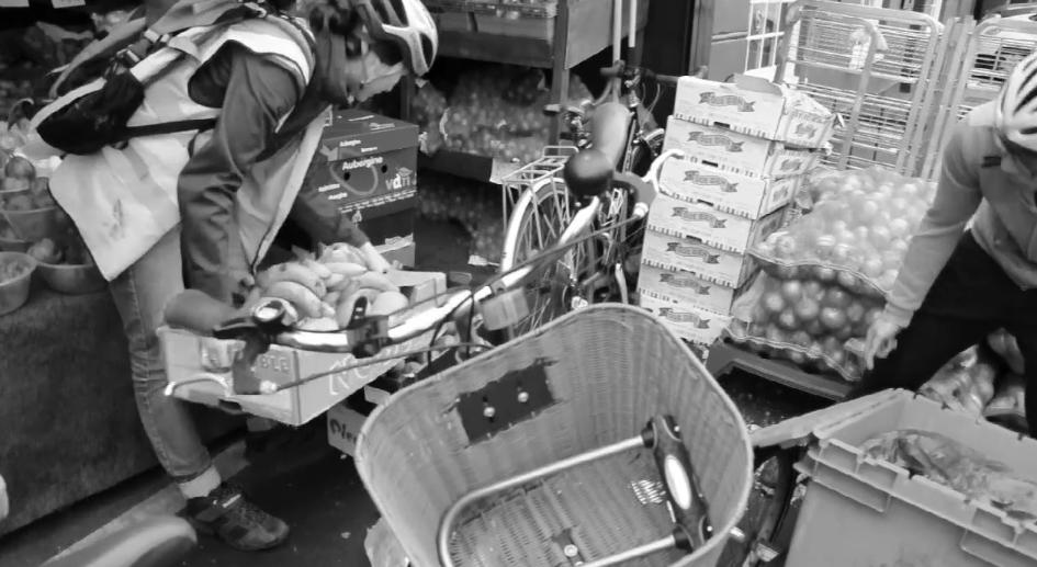 Paris Food Cycle : le road trip anti-gaspillage de trois Britanniques vers Paris
