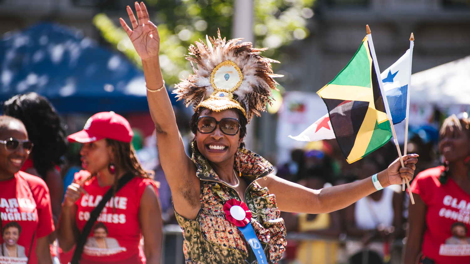 See festive photos from J'ouvert and the West Indian Day Parade 2015