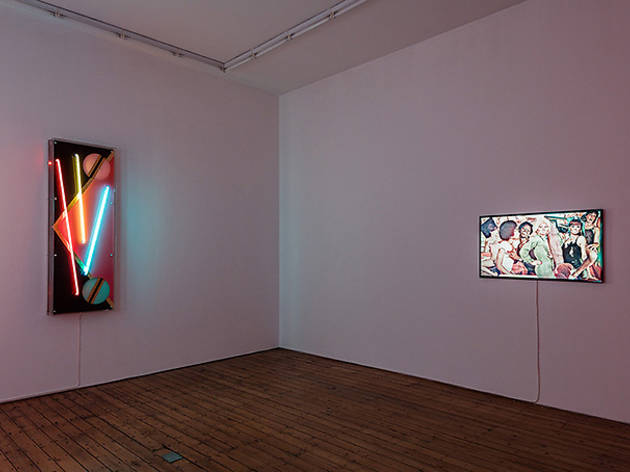 (Evren Tekinoktay: 'Ulalume', installation view at The Approach. © the artist)