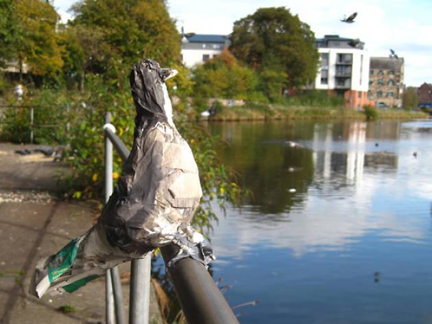 pigeon sculpture