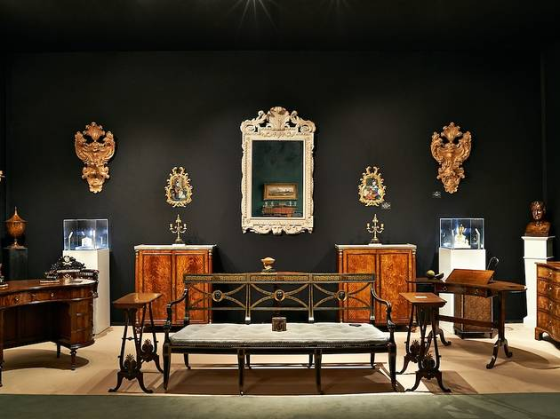 (              LAPADA Art & Antiques Fair 2014. Photo: Tom Mannion                 )
