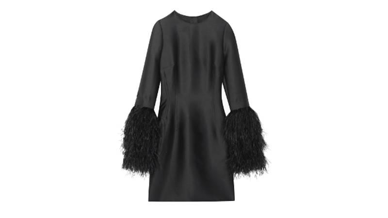 Mayfair Duchesse satin dress, £595