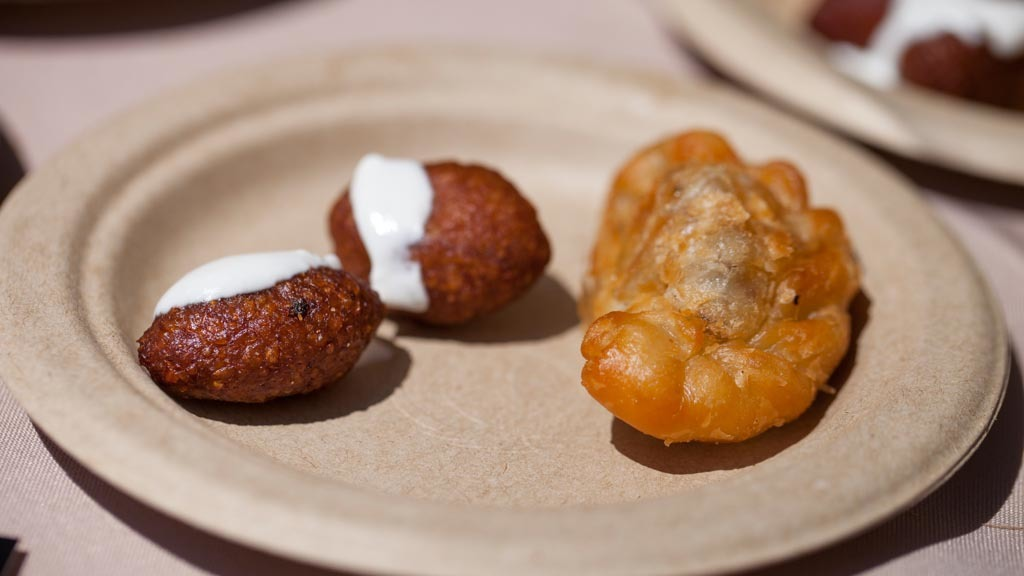 Beef fried kibbeh from 10e Restaurant at The Taste 2015