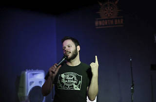Comedian Kevin White hosts @North's open mic night.