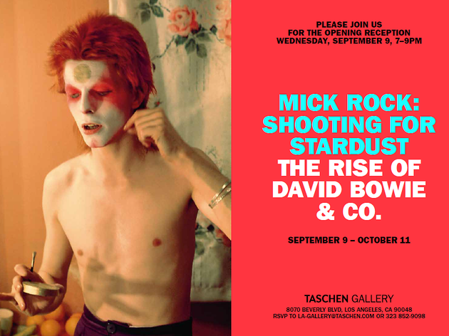 Mick Rock: Shooting for Stardust, the Rise of David Bowie & Co.
