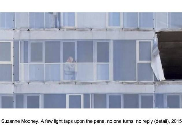 Suzanne Mooney「A few light taps upon the pane, no one turns, no reply」
