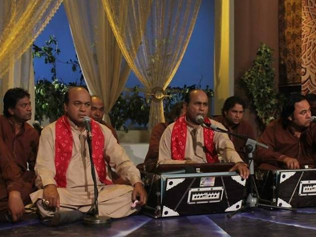 Mehr Ali and Sher Ali Qawwali ensemble