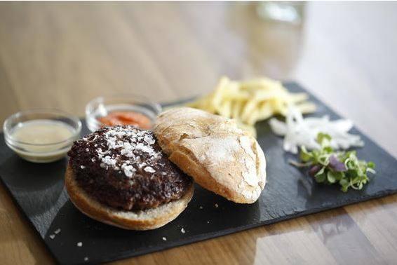 Hamburguesa de Buey Gallego Madurado de Taberna Pedraza