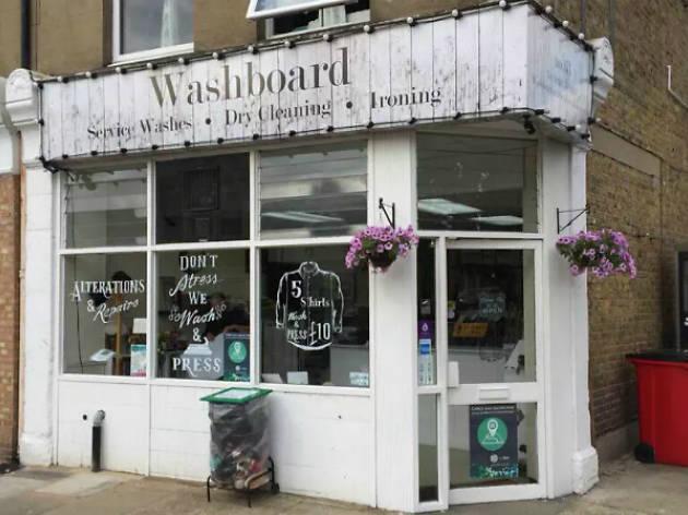 Washboard laundrette