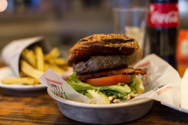 Grandburger de Cafetería HD