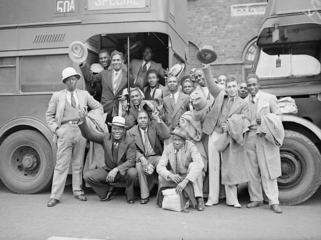 Mixing It: The Changing Faces of Wartime Britain