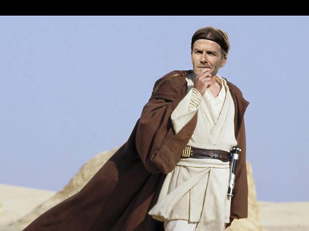 David Beckham in Star Wars