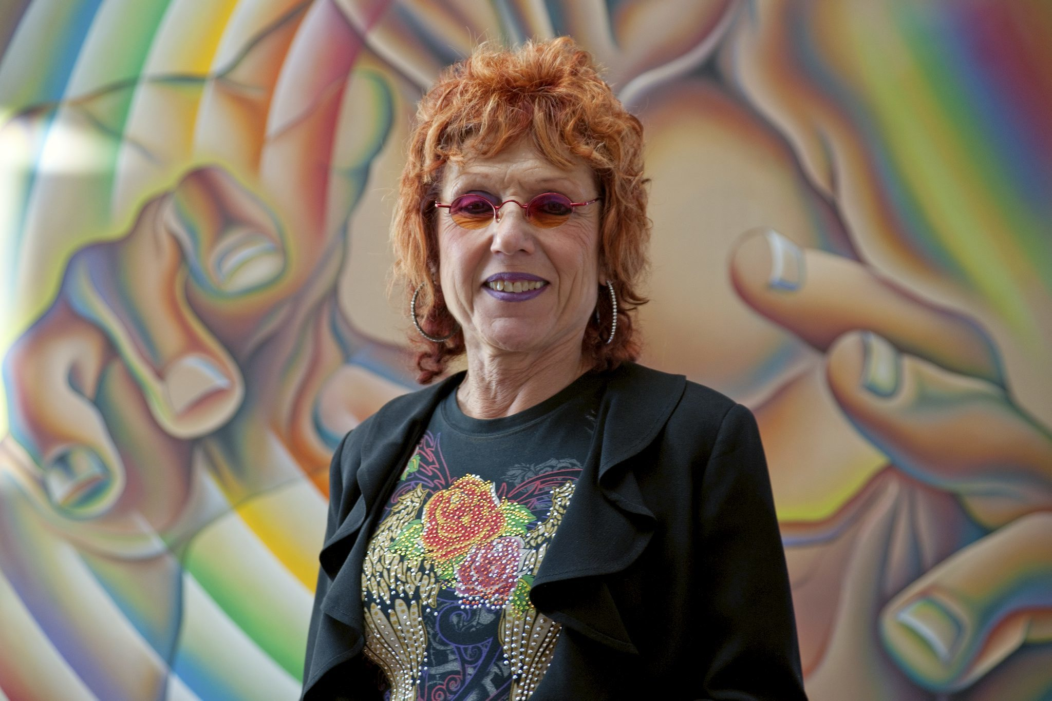 <p>Portrait of Judy Chicago. Photo: Donald Woodman</p>