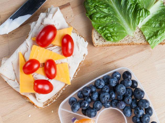 Five easy school lunch ideas for kids