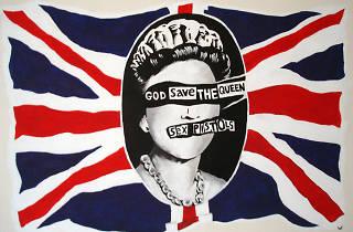 Queen Elizabeth playlist Sex Pistols