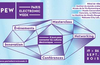 Paris Electronic Week : du 19 au 26 septembre 2015
