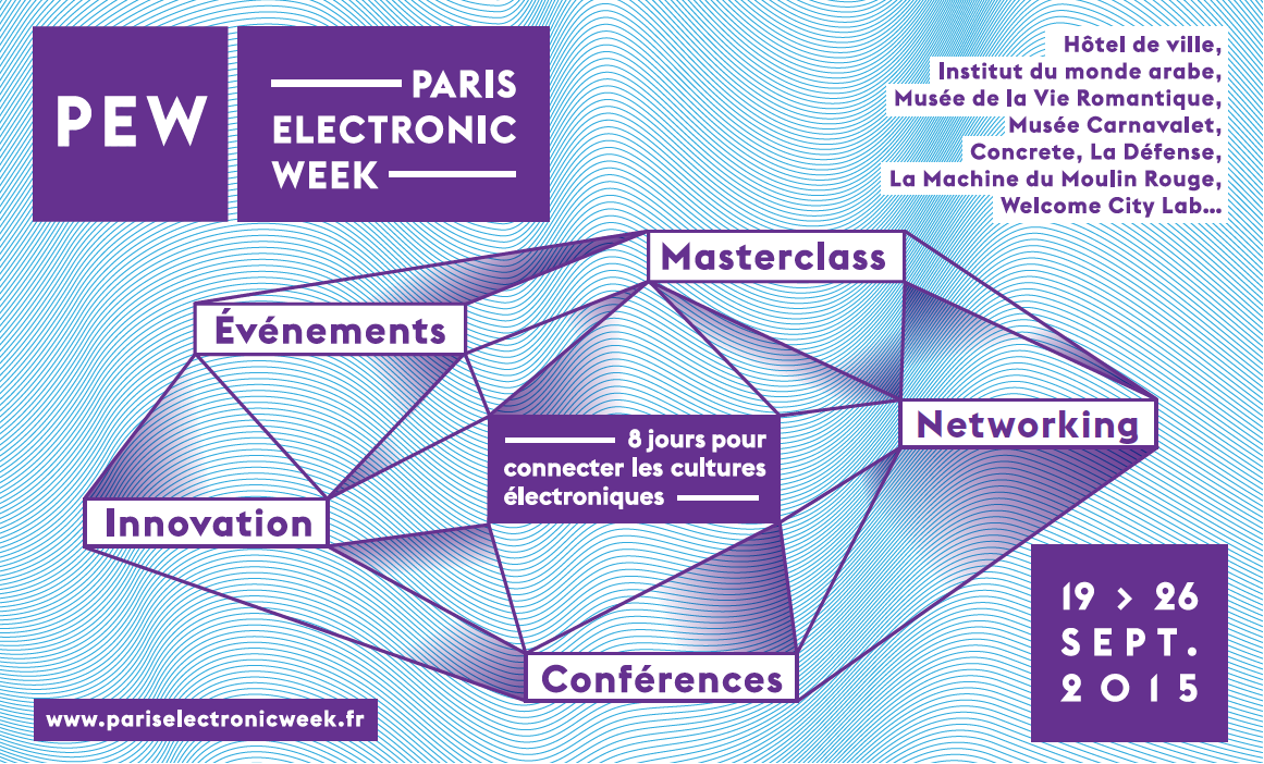 Paris Electronic Week : du 19 au 26 septembre 2015