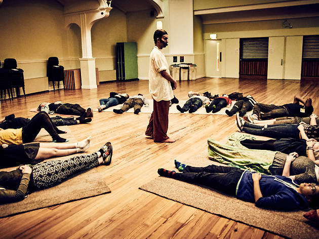 Nick Coyle's Guided Meditation (© Mark Dawson Photography)
