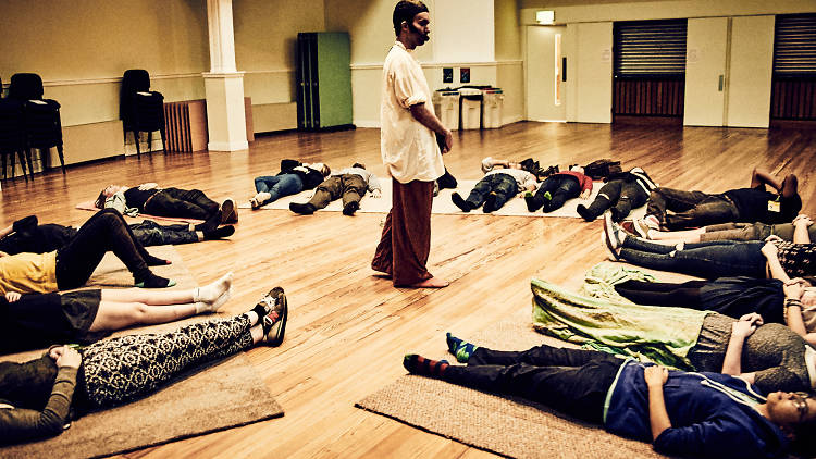 Nick Coyle's Guided Meditation (© Mark Dawson Photography)